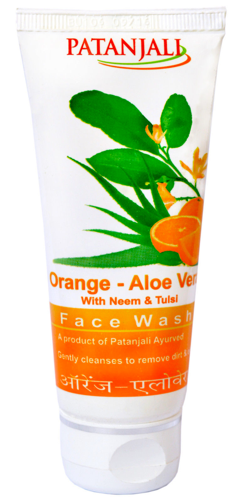 PATANJALI ORANGE ALOEVERA FACE WASH_1