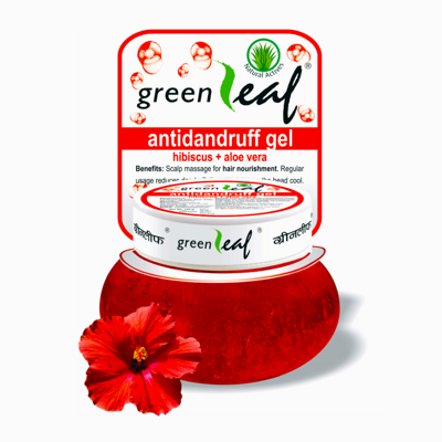 Гель против перхоти / GREEN LEAF Anti Dandruff Gel (Ayurvedic)