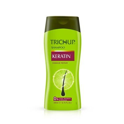 Шампунь с кератином TRICHUP 200 мл / TRICHUP Herbal Shampoo KERATIN Damage Repair 200 ml