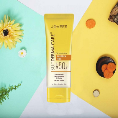 Лосьон защитный SPF50 PA+++ Джовис 100 мл / JOVEES SUN DERMA CARE LOTION SPF 50 PA+++ 100 ml